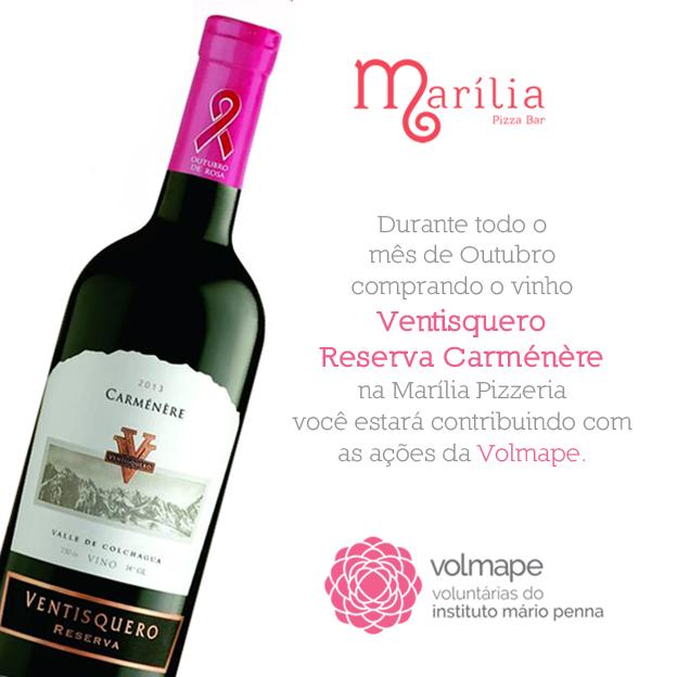 vinho outubro rosa