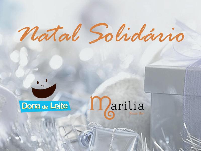 Natal Solidário Dona de Leite Marília Pizzeria